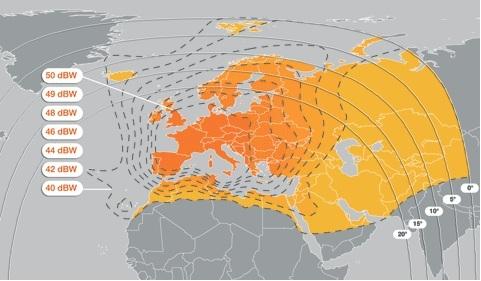 新唐人歐洲衛星轉為歐鳥9號衛星