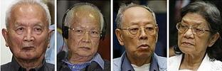 聯柬法院開庭審判前紅色高棉領導人