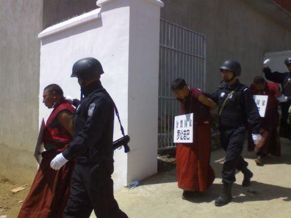 藏人自焚年內第12起 網曝藏區「維穩」照(組圖)