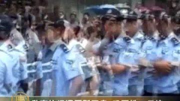啟東抗議萬警鎮壓暫息 恐醞新示威