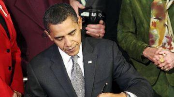 欧巴马签署桑迪97亿美元援助