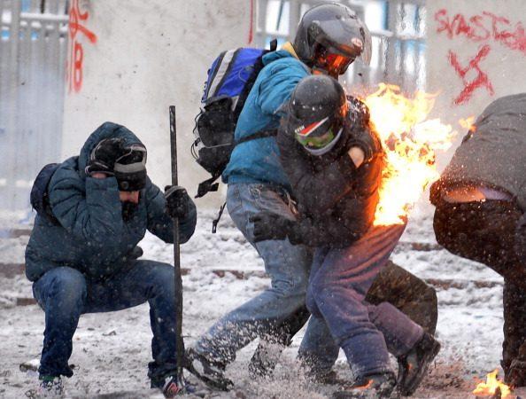 烏克蘭警民衝突致3死  歐盟北約譴責