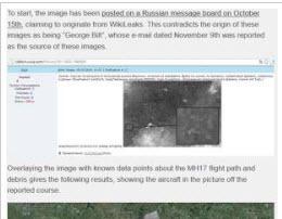 俄国糗大 发布乌克兰战机击落MH17的照片穿帮
