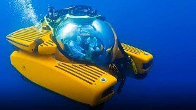 抵海底神秘世界 超級遊艇成億萬富翁新寵