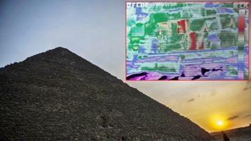 金字塔重大發現!熱能掃描圖片顯示 地下藏有秘密
