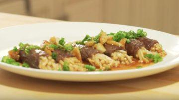 【美食天堂】牛肉寿喜烧金针菇卷 |日式家常料理食谱|