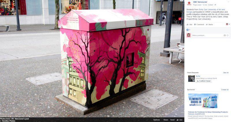 想讓你的畫作出現在溫哥華街頭麼?現在有個好機會……
