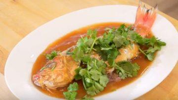 【美食天堂】传奇西湖醋鱼的做法|美味家常食谱只需5分钟|