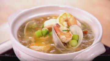 【美食天堂】超美味海鲜胡萝卜汤的做法