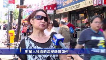 【我有話說】對華人社區的治安感覺如何?