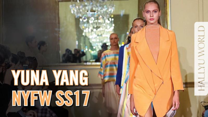 韩裔设计师 Yuna Yang 纽约时装周秀场 (视频)