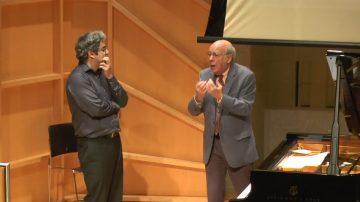 鋼琴大師分享畢生經驗 學生感受深刻