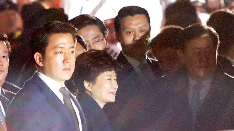 朴槿惠涉13项犯罪指控 韩检传讯21日到案受讯
