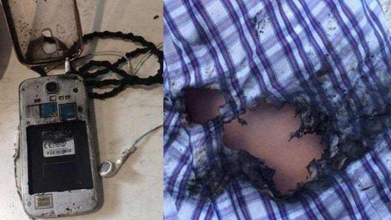 三星S4手機爆炸 澳洲15歲女生腿燒傷