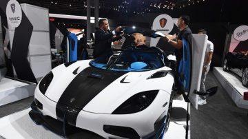 袖珍豪華跑車 笑傲紐約國際汽車展