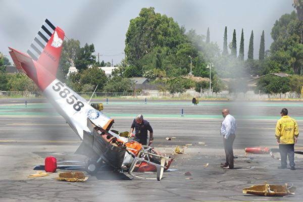 台除役教練機墜毀美機場 應姓華僑當場身亡