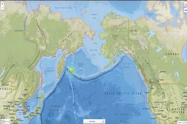 美俄交界 阿拉斯加西端发生浅层7.8强震