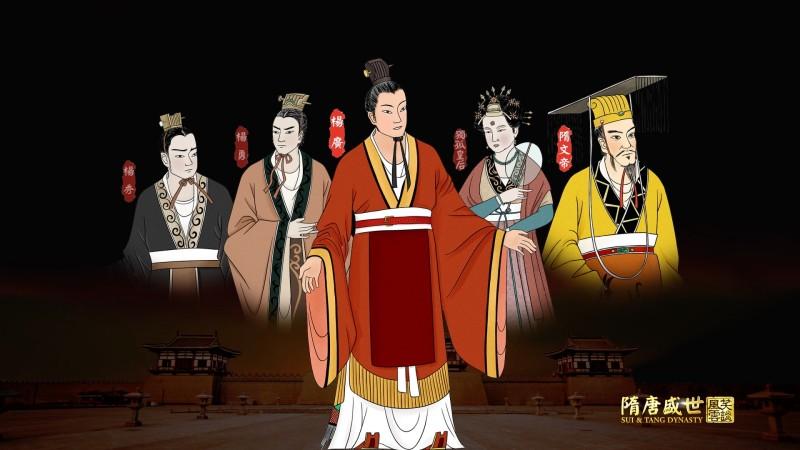 【历史知识小测试】隋文帝的家庭悲剧,弑父疑云