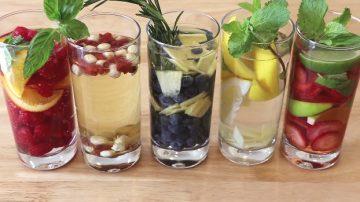 【美食天堂】5种水果维他命水的做法 增强免疫力又美容