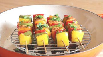 【美食天堂】超讚雞肉蔬菜串 勞動節快樂
