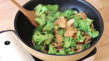 【美食天堂】美式著名芥蓝鸡的家庭做法