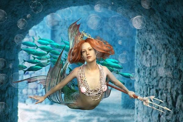 神秘的美人魚 從古籍中漸漸走近人們的視線