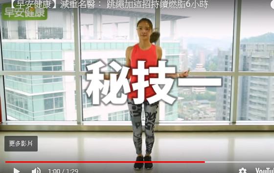 她每天跳繩50下 半年後竟是這效果(視頻)
