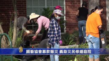 園藝協會募款賑災 義助災民修繕庭院