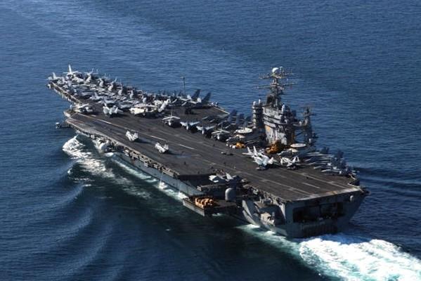 美軍7艘核航母罕見齊出動  「陪」川普對付「火箭人」
