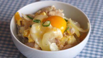 【美食天堂】日式著名親子丼的家庭做法