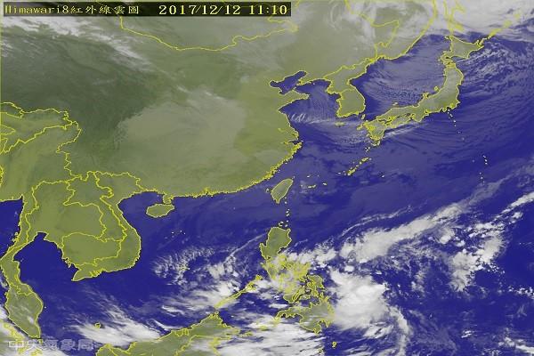冬台启德最快明生成 台湾周六或有强烈冷气团报到