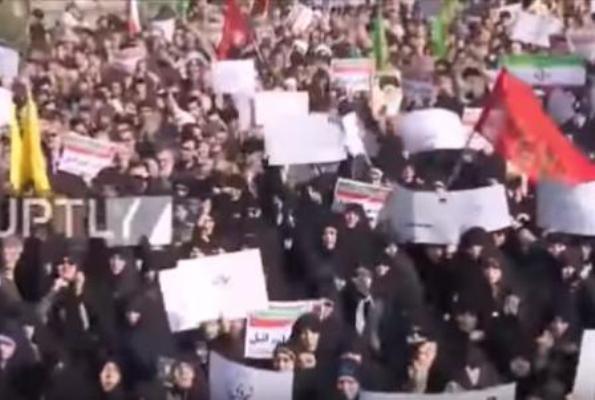 伊朗剧变数十万人上街 中共恐慌下达特急封杀令