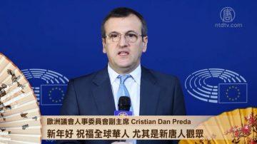 欧议会人事委员会副主席:愿2018年中国人权改善