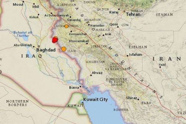 兩伊邊界 1小時連6次規模5以上淺層地震