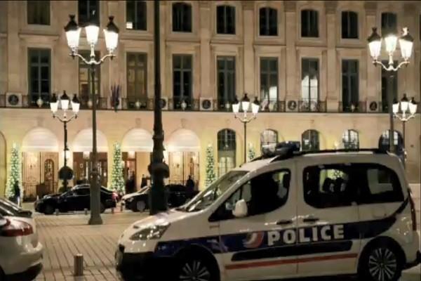 5蒙面大盜搶巴黎麗茲酒店 逾500萬珠寶全被尋獲