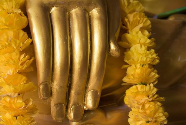 诚心绘佛像 像显双身神迹传