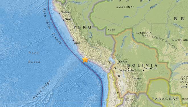秘魯地震下修為7.1 至少2死20傷(視頻)