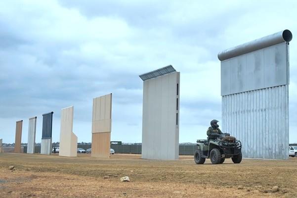 美墨邊界牆原型 特種部隊親測圍阻效果