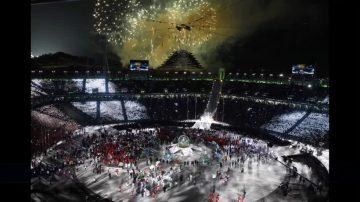 伊万卡率美国代表团出席冬奥闭幕式