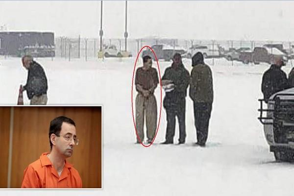 美國狼醫冰天雪地發監 瑟縮顫抖中展開牢獄生涯