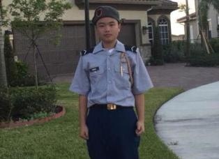 华裔少年佛州校园枪案舍己救人 民众吁以军礼安葬