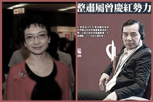 英媒:吴小晖被抓时 与邓卓芮签了离婚协议