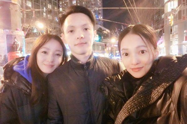 張韶涵晒姐弟仨合照 網友:姐妹倆神似雙胞胎