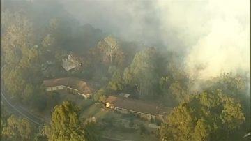 澳新南威爾士發生叢林大火