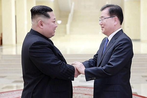 """韩媒:除了美朝会谈 金正恩还有""""特别信息""""给川普"""