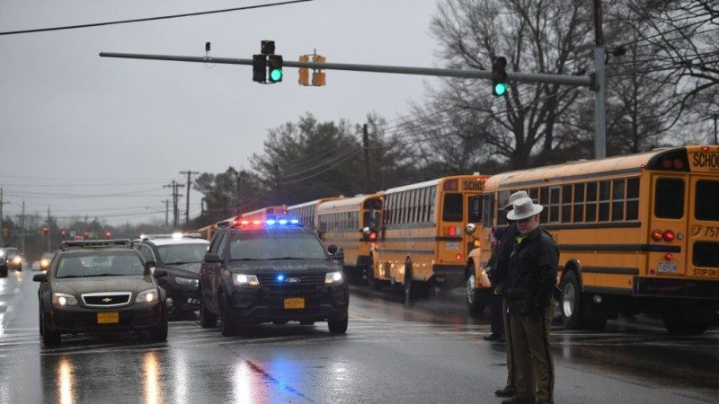 美马里兰州高中爆枪击 含枪手共3伤