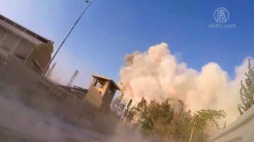 美英法發動空襲  摧毀敘利亞化武設施