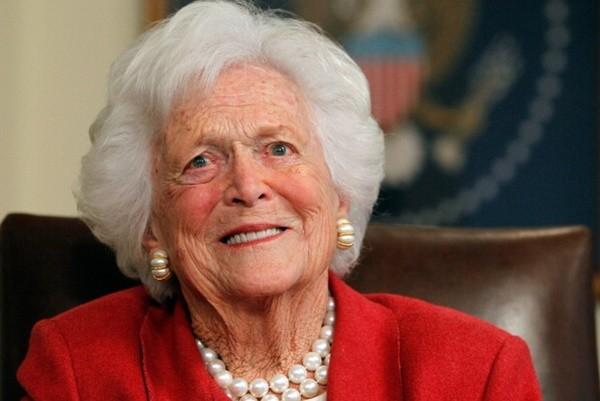 健康衰退 美前第一夫人芭芭拉布什採紓緩照護