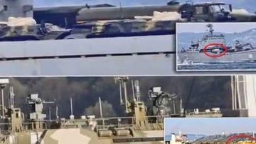俄兩軍艦悄然前往敍利亞 上載軍用設施