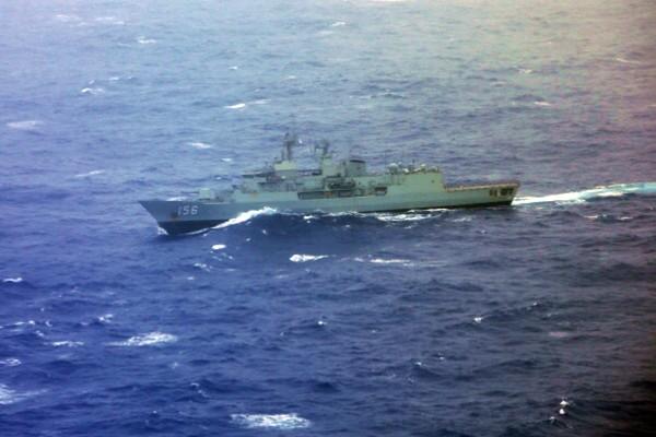澳3艘軍艦南海航行 與中共海軍對峙內幕曝光